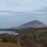 view from the Diamond on the Connemara Loop & Wild Atlantic Way