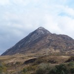 Diamond Mountain in the Connemara National Park on the Connemara Loop & Wild Atlantic Way