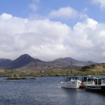 Derryinver Pier on the Connemara Loop and the Wild Atlantic way